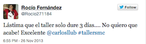 Testimonio-Rocio-Fernandez-Taller-Social-Media-Contenidos-Santo-Domingo-Dominicana-nov-13