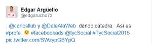 Testimonio-tcysocial-charla-Facebook-Ads-oct-2015-Edgar-Arguello