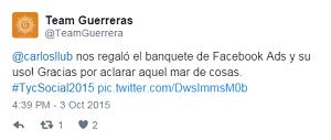 Testimonio-tcysocial-charla-Facebook-Ads-oct-2015-Team-Guerreras