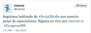 Testimonio2-Interlat-CongresoSM-Social-MediaAds-Bogota-Colombia-nov-13