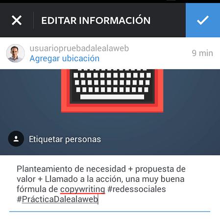 Agregar-Segundo-Hashtag-Instagram