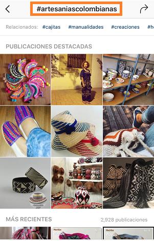 Ejemplo-Hashtag-Marcas-Instagram-Comun-Local-artesanias-colombia