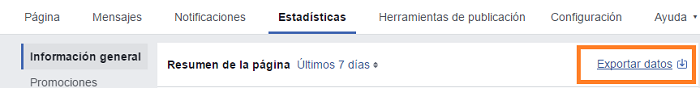Exportar-Datos-Pagina-Facebook-Alcance-Paso-0