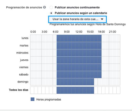 Anuncios-Facebook-Horarios-Calendarios-Especificos