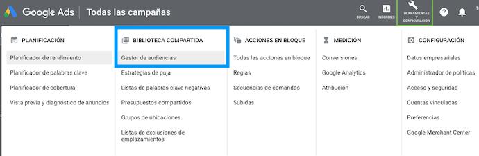 Biblioteca-Compartida-Google-Ads